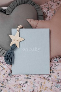 Mommy Planner Pamiętnik dziecka – oh baby Baby Blue