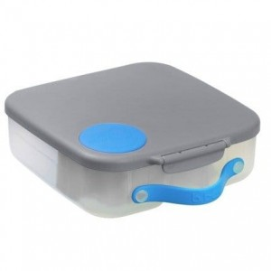 B.box Lunchbox, Blue Slate